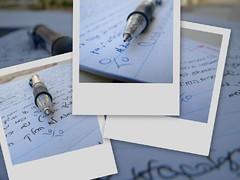 Checking exams... (Shemer) Tags: collage pen dof exams