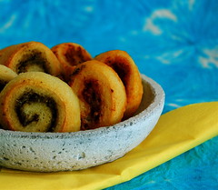 Pesto Spirals - To Go (MeetaK) Tags: food recipe togo bake pesto slw stilllifewith