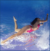 Sea Fantasy (Fiona Ayerst) Tags: pink red sea portrait orange water fun model colours underwater arty artistic redsea egypt silk material debbie modelling tiran freediver verticalanimal d200nikon matherpike one120seaseastrobe debbiematherpike egyptaugust2006