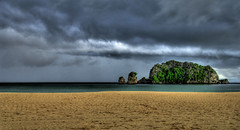 The Blue Before the Storm (Stuck in Customs) Tags: world ocean travel light storm art beach water beautiful rock clouds island photography photo nikon colorful pretty dynamic ominous gorgeous d2x dream fresh divine professional adventure international photograph malaysia stunning top100 langkawi charming foreign fabulous technique hdr tutorial trey archipelago 2007 artisitic engaging travelphotography turbulent ratcliff d2xs hdrtutorial stuckincustoms imagekind treyratcliff stuckincustomsgooglescreensaver