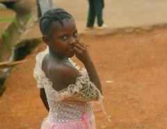 ballerina (LindsayStark) Tags: africa travel portrait people girl war sierraleone conflict humanrights humanitarian displaced idpcamp refugeecamp idps idp humanitarianaid emergencyrelief idpcamps waraffected