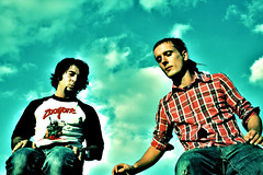 Bob & Marcel (bettybraun) Tags: blue friends sky clouds photoshop marcel xpro colorful bob cologne crossprocessing faux zooyork ahmet sdstadt digitalcrossprocessing supercolored fauxcrossprocessed urbanguys digitalcrossprocessed urbanboys