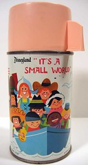It's A Small World Thermos Mary Blair Art (Neato Coolville) Tags: disneyland smallworld thermos maryblair olddisneyland
