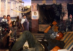 La Crisi! (Master Mason) Tags: party art collage photomanipulation psp arte roman surrealism surreal manipulation paintshoppro festa uva surrealistic merz surrealismo baccus bacco triclinium doctorparty triclinio ildottore momomomo mastermason lanouvellerevolutionsurrealiste artistvi ancientstyle marciochestracolo fuoridibrutto macomesonoridotto marciochecolo eleganzanellabbruttimento absolutfosky