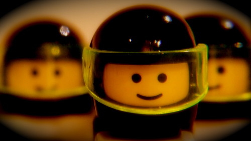 Lego space men