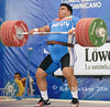 REZA ZADEH  IRI (Rob Macklem) Tags: world 2006 strength olympic weightlifting championships domingo santo