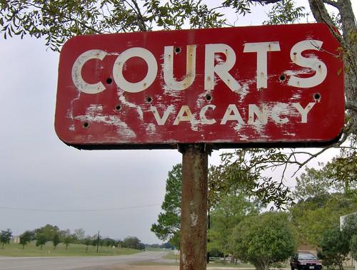 courts vacancy