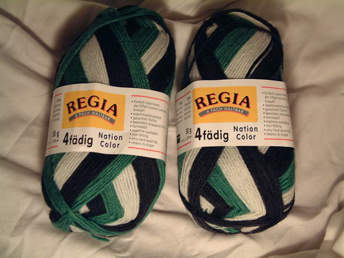 Regia Nation Color- Green Black White