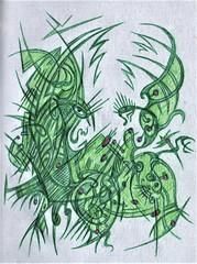 Life Support (darksaga66) Tags: bookofink penandink inkart art myart doodle