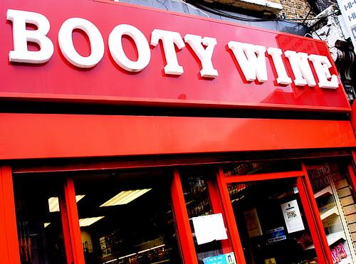 booty wine
