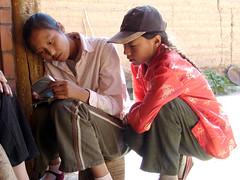 Looking (rudenoon) Tags: cn sony amdo tibetan  dscf828 qinghai  duwa tibetanwomen  jimgourley