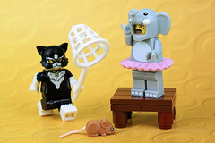 How Party Costumes Say About Our Personality (Lesgo LEGO Foto!) Tags: lego minifig minifigs minifigure minifigures collectible collectable legophotography omg toy toys legography fun love cute coolminifig collectibleminifigures collectableminifigureseries16 series lego71021 71021 partycostume costume costumes elephant cat elephantgirl catcostumegirl catcostume rat mouse party series18 18 flickrunitedaward