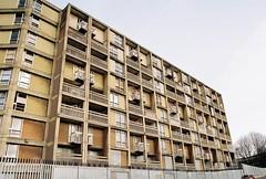 Pre Development Park Hill project Sheffield (boloveselvis) Tags: nikon fm2 kodak film colorplus 200asa brutalism architechture social housing council buildings flats yorkshire