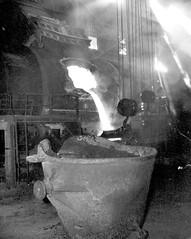 Flin Flon - Smelting at the Mine, 1943 (vintage.winnipeg) Tags: vintage history historic manitoba canada flinflon