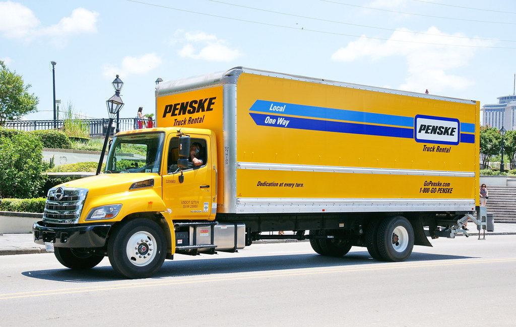 Penske Cargo Trailer Rental >> The World's Best Photos of hino and truck - Flickr Hive Mind