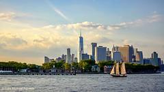 Kiss and sail (luismichaelphoto) Tags: ny nyc sailboat sail 911 america liberty freedom freedomtower