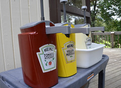 Snack bar concession Bear Creek Lake State Park (vastateparksstaff) Tags: food eat snackbar condiments ketchup mustard