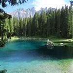 Lago di Carezza, Dolomites, Italy thumbnail