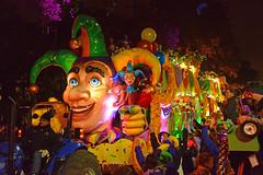 The Mystery & Magic of Carnival (BKHagar *Kim*) Tags: bkhagar mardigras neworleans nola la parade celebration people crowd beads outdoor street napoleon uptown jester float details