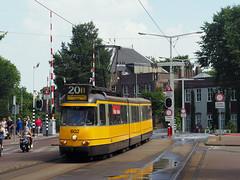 GVB 602 (jvr440) Tags: tram trolley strassenbahn gvb amsterdam bolkop ema elektrische museumtramlijn 3g 602