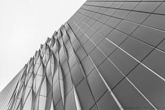 Waves (henny vogelaar) Tags: netherlands groningen architecture unstudio universityhospital laboratory hospital umcg modern facade building bw