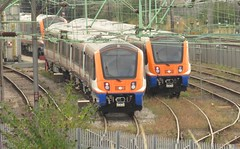 710266 and 710261 Willesden Depot (localet63) Tags: class710 londonoverground 710266 710261 willesdenjunction depot