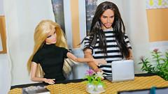 Summer and her BFF Enzo Velenco (Fake Royalty) Tags: barbie basics 1 ken faraway forest fairy kingdom wedding