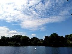 Mote Park (laurapage839) Tags: lakewatermaidstonekentmotepark cloudsky