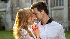 feelings (keriarpi) Tags: couple fiance bride woman man pair portrait engaged face nature portraits wedding people feeling feelings love lover girl boy