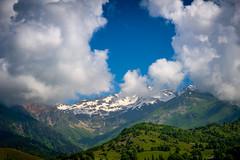 Caucasus Mountains near Mestia, Georgia (CamelKW) Tags: georgia june2017 caucasusmountains mestia
