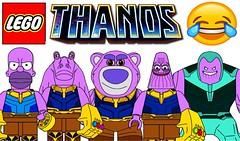Funny Lego Thanos Minifigures !!! Memes (afro_man_news) Tags: lego funny thanos memes jokes minifigures all new toy story lotsohuggin bear star wars jar mickey mouse spongebob patrick the simpsons homer simpson must wacth vitas