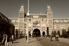 Gateway to Rijksmuseum _3495 (hkoons) Tags: amsterdamcentraal amsterdamcentral northsea westerneurope cityscape trainstation amsterdam atlantic capital city europe european holland netherlands railway canals coast coastal dykes ocean rails sea station tidal train urban waterways rijksmuseum