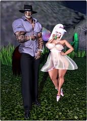 Daddy taking me Gacha'ing! (ximajica) Tags: virtualreality virtualrealityworld virtual vamplove secondlife sl pixels pixel neko imajica kitty shopping gacha collared boricua daddydom daddysgirl avatar avi