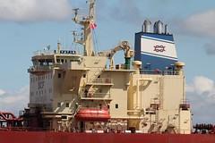 Kazan (das boot 160) Tags: kazan tanker tankers tranmereoilstage ships sea ship river rivermersey port docks docking dock boats boat birkenhead liverpool mersey merseyshipping maritime