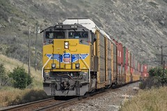 UP8878 (TVR-Rail-Pics) Tags: up uprail sd70ace up8878 railway trainphotos trainsofab trainsofcanada railwaysofcanada canadianrailway cnandiantrains nikon nikond7200 nikon70300mm