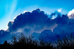 The clouds now ... (Julie Greg) Tags: canon800d clouds sky nature colours dreamy trees canon