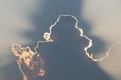 Clouds Near Sunset (Saline, Michigan) - August 11th, 2018 (cseeman) Tags: sunset clouds sun outlines summer saline michigan salineairport salinetownship sunset08112018 rays sunrays raysofsun