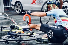 European Championships 2018 - Cycling Road Race (kevan_cooke) Tags: fall bike bicycle accident oops roadrace cyclists cycling games championships european glasgow
