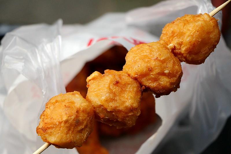 捷運永春東加炸雞-風味獨特的市場人氣炸雞攤18
