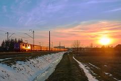 EP09-040 near Rzeszów Załęże (ThanksDrBeeching) Tags: ep09 epoka pkpic ic tlk intercity pkpintercity pkp kolej pociąg rzeszów małopolska tlk53105 train railway zug bahn