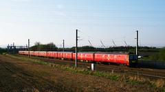 325013 (Martin's Online Photography) Tags: mainline wcml warrington cheshire d7200 nikond7200 nikon 325015 mail royal electric locomotive train railway rail class325 winwick junction