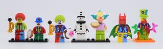 LEGO Clown evolution😋