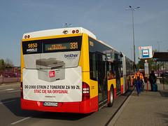 "Mercedes Conecto LF Euro 6, #9850, ""Mobilis"" Mościska dept Warsaw (transport131) Tags: bus autobus mercedes conecto lf mobilis group ztm warszawa wtp"