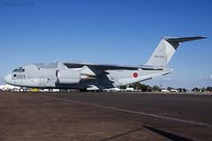 Japan Air Self Defence Force, Kawasaki C-2, 68-1203. (M. Leith Photography) Tags: japanese self defence force kawasaki c2 jasdf fairford england aviation aircraft riat royal international air tattoo jet military markleithphotography nikon d7200