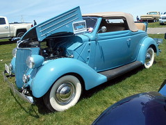1936 Ford Roadster (splattergraphics) Tags: 1936 ford roadster rumbleseat carshow carlisle springcarlisle carlislepa