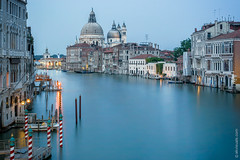 Venice After Hours (thedot_ru) Tags: venice italy notcalifornia river canal calm buildings architecture water sky noclouds europe travelling travel travels tourism tourist night afterdark sunset trip adventure wanderlust eu 2005