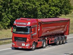 Hustig (D) (Brayoo) Tags: daf transport truck trucks trans tir lkw lorry