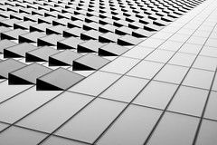 Advancing (James-Palmer) Tags: london england uk english british britain gb gbr greatbritain capital city urban modern modernist modernism modernity architect architectural new architects engineer engineering engineered highrise skyscraper panes glass abstract blackandwhite geometric angular geometry grid tron timeless classic style design designed built constructed designer reflection mirror monochrome experimental expression advancing office industrial offices urbanist urbbanism panel panels polygons triangles shaped shapes