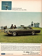 1966 Lincoln Continental Coupe (aldenjewell) Tags: 1966 lincoln continental coupe ad