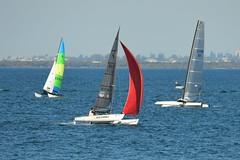 800_4426 (Lox Pix) Tags: queensland qld australia woodypoint hyc humpybongyachtclub winterbash foiling foilingcatamaran catamaran trimaran loxpix bramblebay boats
